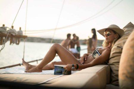 Gulet cruise privacy on board